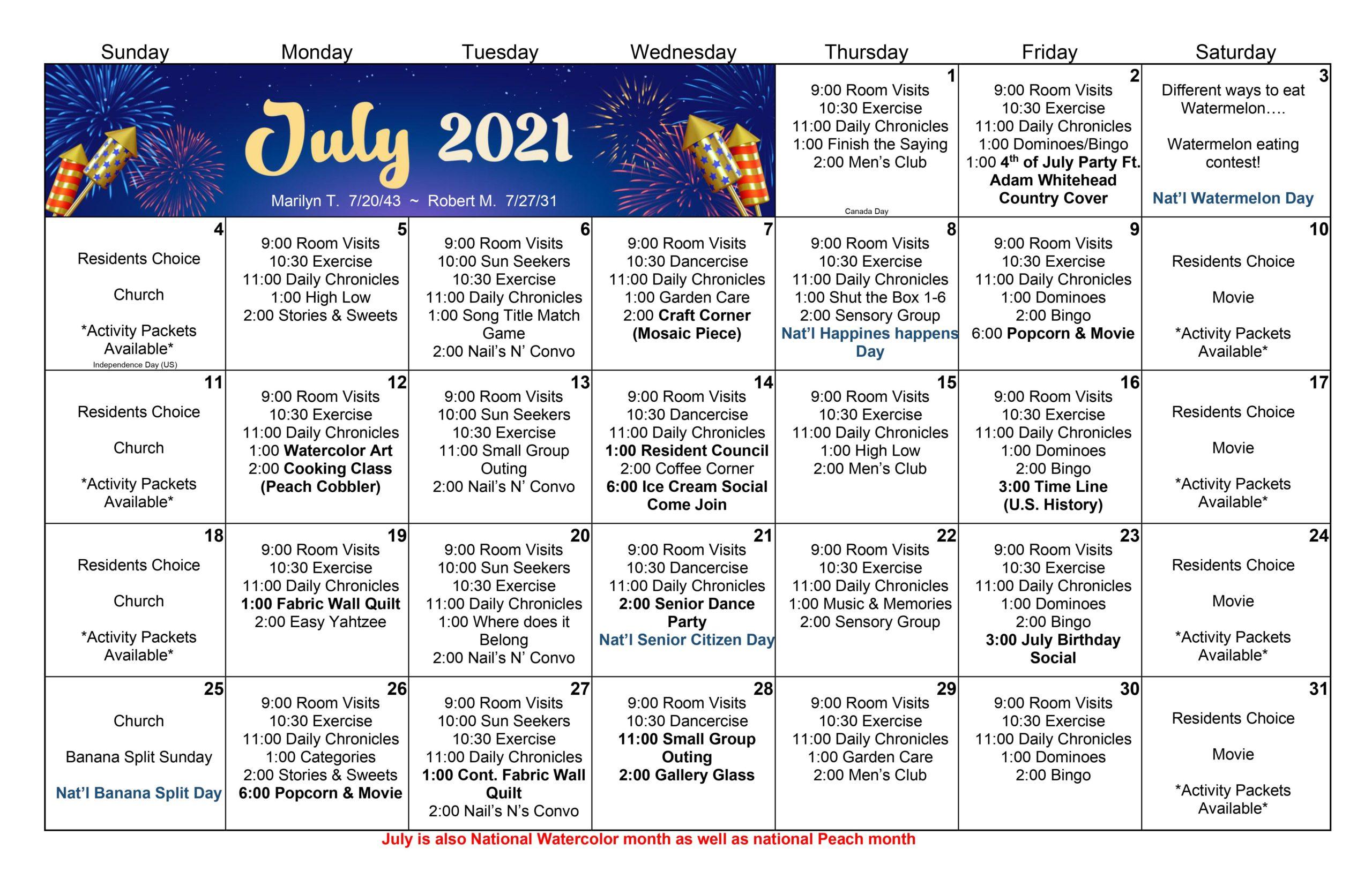 July21Calendar-Keota